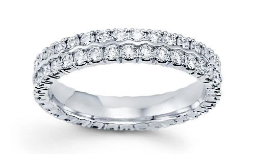 diamond bands for her - Diamond Wedding Rings For Her